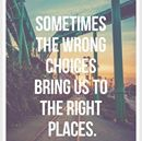 wrong choices lead to right places